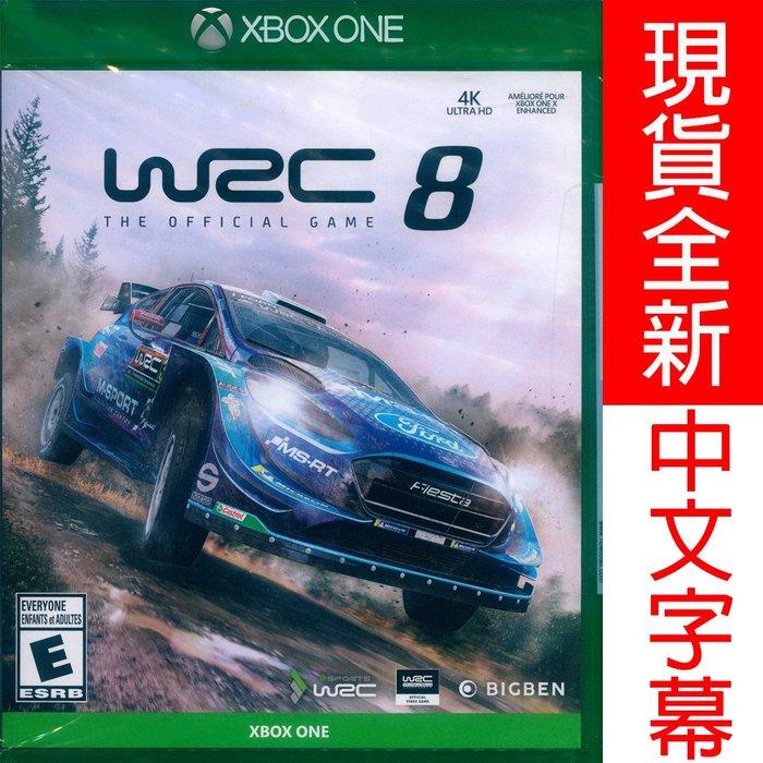 【一起玩】XBOX ONE 世界越野冠軍賽 8 中英文美版 WRC 8: FIA World