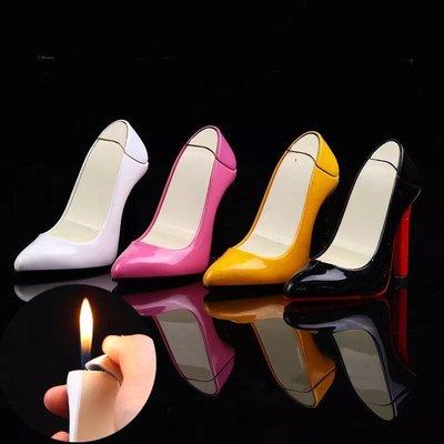 KUSO 搞怪創意高跟鞋 造型打火機 充氣式