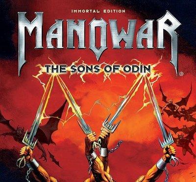 【搖滾帝國】MANOWAR / The Sons Of Odin   CD+DVD