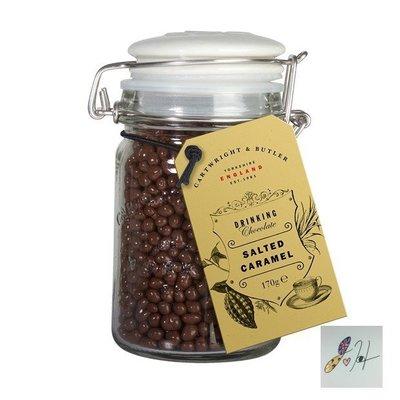 [要預購]英國代購 英國CARTWRIGHT&BUTLER 熱巧克力 鹽味焦糖珍珠粒 170g