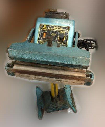 【宏品二手家具館】 台中二手家具 家電拍賣 XS516IJJ*腳踏式封口機* 二手家電拍賣 中古冷氣空調 電視 洗衣機