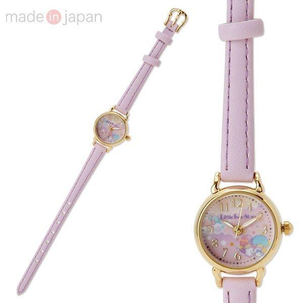 41+ 現貨不必等 正版授權 雙子星 日本製 皮革錶帶碗錶手錶4901610174593  my4165