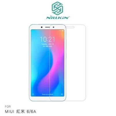 【愛瘋潮】NILLKIN MIUI 紅米 6 / 6A Amazing H 防爆鋼化玻璃貼 9H硬度