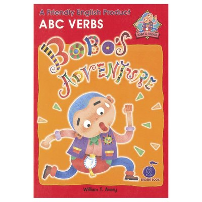 Bobo English learning for kids-Book 2(ABC Verbs) 兒童幼兒美語教材 課本