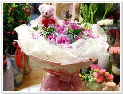 Florist Taipei Taiwan~最夯情人節玫瑰花束~33朵玫瑰命中注定我愛你Forever Love