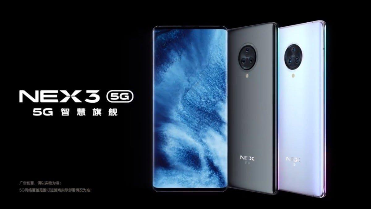 vivo NEX 3※6.89吋瀑布全螢幕/6400萬畫素三鏡頭/1600萬畫素升降式前鏡頭~淡水 淡大手機館