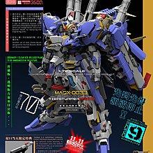 機甲之城 1/72 MASX-0033 Tief-Sturmer Expedition 全塑料拼裝模型 Gundam 高達 ExS 00 model 藍色
