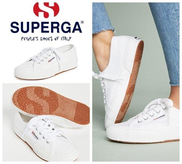 【BJ.GO】Superga 2750 COTU CLASSIC WHITE 經典白運動鞋