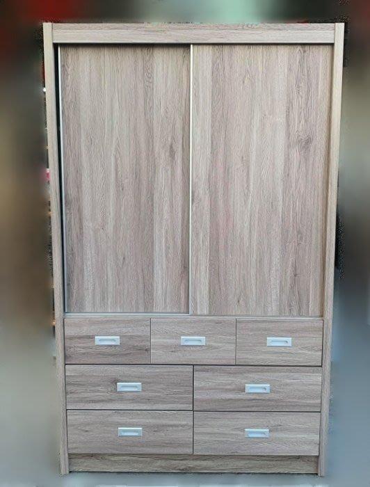 台中二手家具買賣 推薦 宏品中古傢俱館 YS831FE*全新雅典木心板衣櫃 4尺7抽屜衣櫥*櫥櫃 斗櫃收納櫃臥室家具