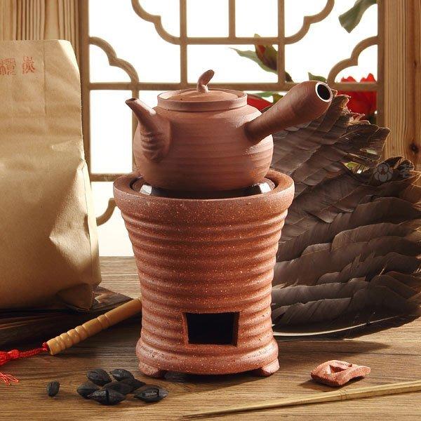 5Cgo【茗道】含稅會員有優惠 22528167700 炭茶爐火爐砂爐砂銚玉書煨橄欖炭風爐炭茶爐煤炭黑炭爐煮茶 整套
