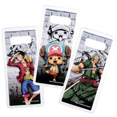 海賊王正版授權透明軟殼 城牆系列 6.3吋 Note 8 三星 Samsung N950F 航海王 手機套/手機殼