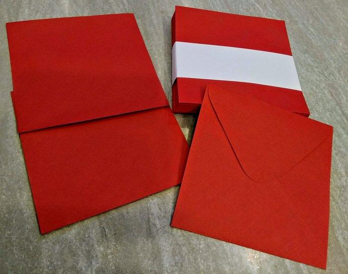 大紅信封 喜帖信封