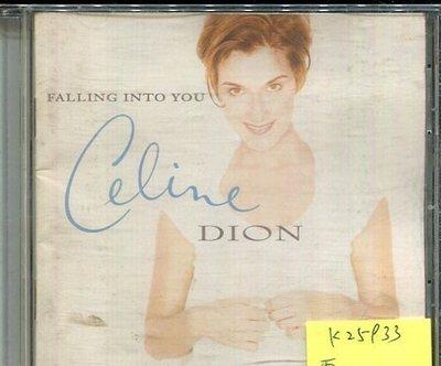 *真音樂* CELINE DION / FALLING INTO YOU 二手 K25933