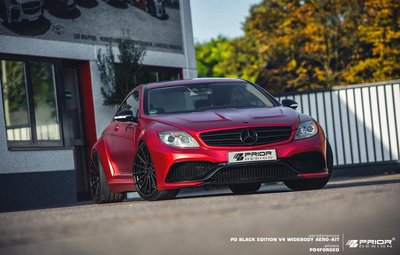 【樂駒】PRIOR DESIGN PD BE V4 Widebody Mercedes CL W216 寬體 空力 大包