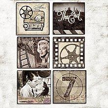 美式複古做舊裝飾畫西餐廳壁畫電影海報版畫掛畫酒吧咖啡廳裝飾(12款可選)