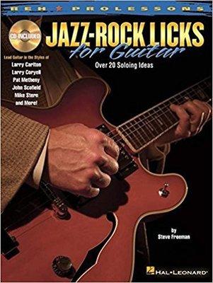 [反拍樂器]Jazz-Rock Licks for Guitar 進口吉他教材