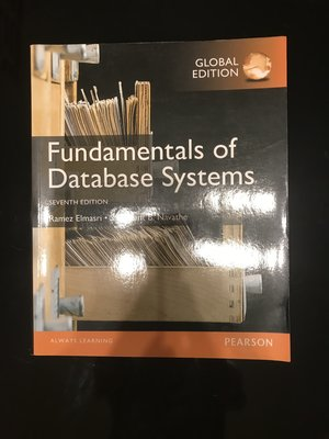 Fundamentals of Database Systems 7th edition(Pearson)
