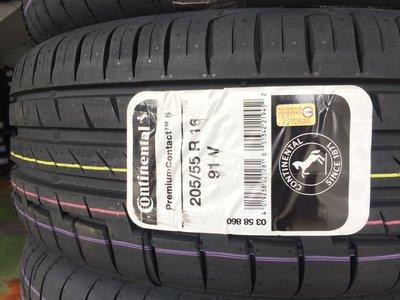 台北永信輪胎~德國馬牌輪胎 CPC6 205/55R16 91V 歐洲製 含安裝 定位