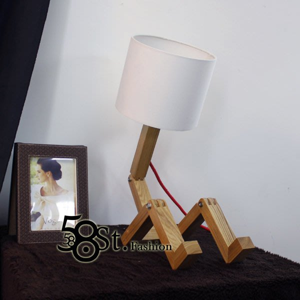 【58街】義大利設計師款式「小矮人台燈」檯燈。複刻版。GL-152
