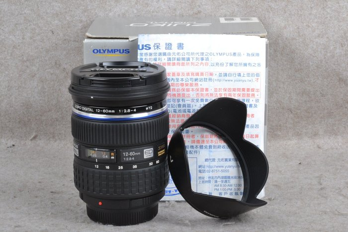 【台中品光攝影】 Olympus ZD 12-60mm F2.8-4 ED SWD 4/3系統公司貨 FJ#59478T