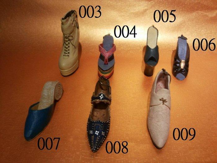 手工彩繪- 名牌鞋 義大利 米蘭 歐洲 英倫 法國 款式 模型 櫥窗擺設 個人收藏-女鞋 跟鞋包鞋