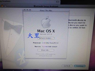 台中大里 Apple mac mini 1代 A1103 (零件機)