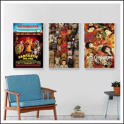 犬之島 Isle of Dogs 千年女優 超級狐狸先生 海報 電影海報 掛畫 嵌框畫 @Movie PoP 多款海報#