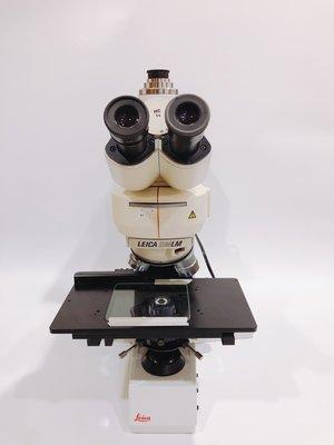 Leica DMLM  金相顯微鏡 三眼觀察鏡筒 明暗視野觀測