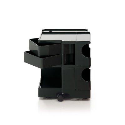 Luxury Life【正品】B-Line Boby 巴比 多層式系統 收納推車 - 中尺寸 (雙抽屜收納) 黑色款