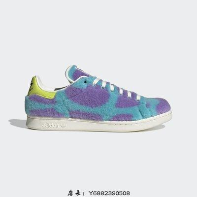 全新正品ADIDAS DISNEY MIKE & SULLY X STAN SMITH GZ5990 男女鞋