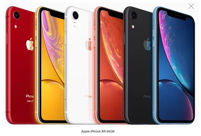 天下通手機旗艦店Apple iPhone XR 64GB