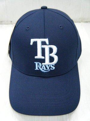 新莊新太陽 MLB 美國職棒 大聯盟 5732018-580 坦帕灣 光芒隊 可調式 棒球帽 球迷帽 深藍 特550