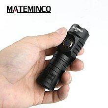 強光手電筒戶外便攜迷你防水MATEMINCOS03 全新 不配電池可用18650及18350鋰電池亮度極高2100流明