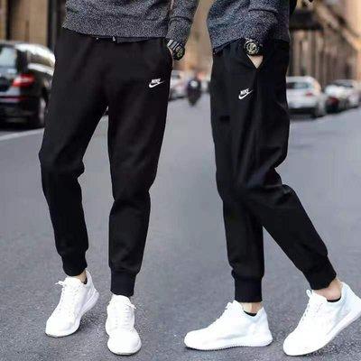 現貨 Nike 804462 耐吉 運動褲 百分百純棉運動長褲 休閒褲 健身跑步褲 籃球褲 縮口褲 束口褲 小腳褲男女款