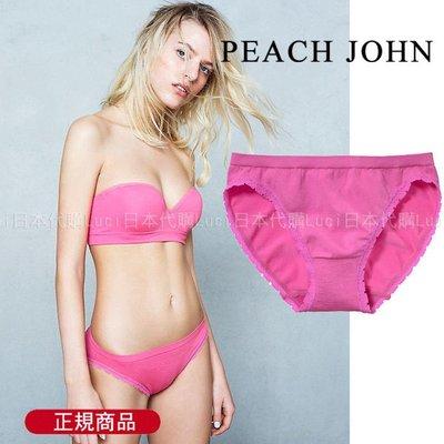 Work Bra Peach John 素面蕾絲邊小內褲 部落客推薦 LUCI日本代購 1010115