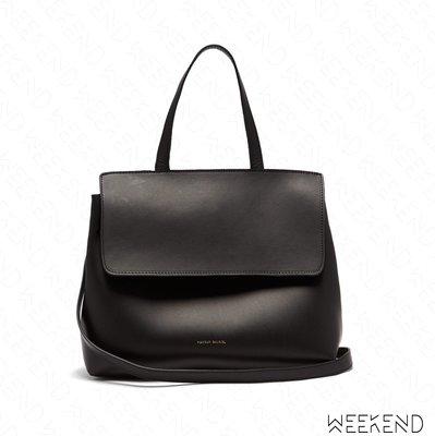 【WEEKEND】 MANSUR GAVRIEL Mini Lady Bag 小款 手提包 肩背包 黑+紅色