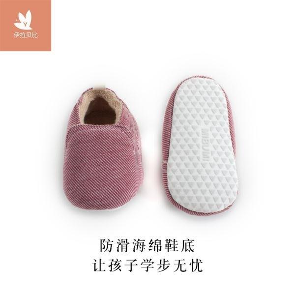 新生嬰兒冬男寶寶手工縫制加厚棉鞋女學步鞋保暖防滑不掉軟底加絨