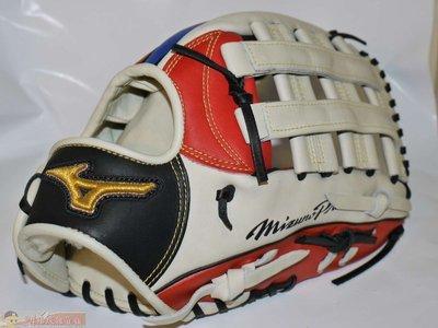 貳拾肆棒球-日本帶回Mizuno pro All-Star 明星賽限定外野手套-中田翔式樣