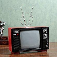〖洋碼頭〗復古工藝品 裝飾擺件  懷舊電視機模型家居飾品  歐式創意擺設 ayj187