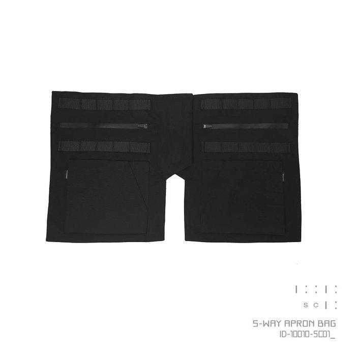 { POISON } INCODER 5-WAY APRON BAG 武士裙甲靈感 側背腰間包