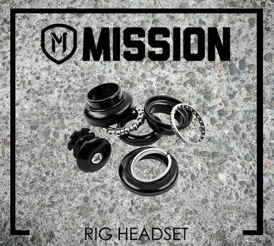 [Spun Shop] Mission BMX Rig Headset 壓入式散珠頭碗組