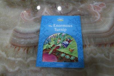 幼兒園 初階 英文 原文 繪本  THE ENORMOUS TURNIP