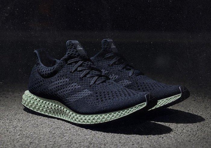 Adidas Futurecraft 4D Ash Green B75941黑綠4D列印跑鞋編織鞋科技慢跑鞋愛迪達三葉草