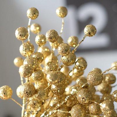 北歐INS金色銀色閃亮球串婚慶配件PARTY布置裝飾辦公室婚禮布置
