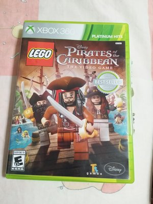XBOX 360 LEGO PIRATES OF THE CARIBBEAN