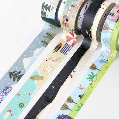 ❅PAVEE❅ 韓國iconic~ Masking Tape 寧靜生活 裝飾和紙膠帶~ season