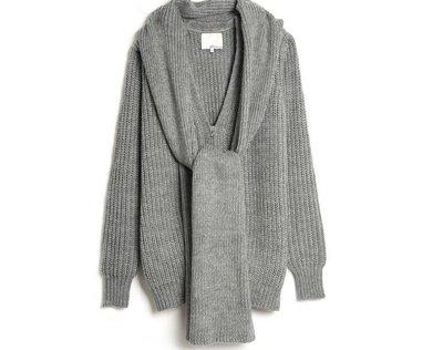 3.1 Phillip Lim  oversized 圍巾 毛衣外套
