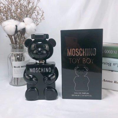 專櫃MOSCHINO夢仙奴 泰迪熊香水,TOY BOY黑色泰迪熊男士香水100ml