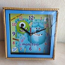 迪士尼 Disney 怪獸公司 時鐘 座檯鐘