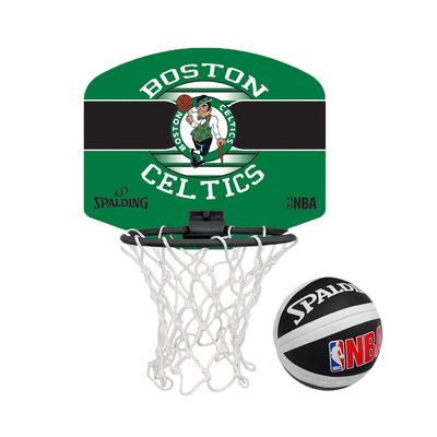 SPALDING 18'小籃板-賽爾提克(親子 籃框 籃板 NBA 斯伯丁【99302101】≡排汗專家≡